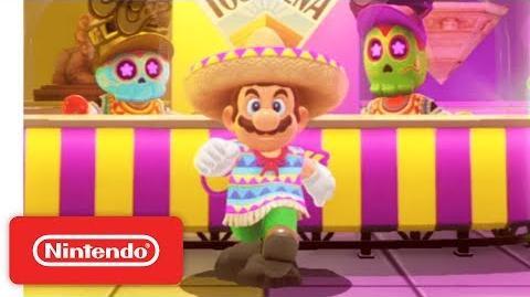 Super Mario Odyssey - Show Floor Demonstration - Nintendo E3 2017