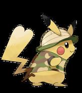 Pokémon Let's Go, Pikachu! and Let's Go, Eevee! - Character Artwork - Pikachu 01