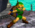 Young link melee