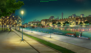 Layton's Mystery Journey Katrielle and the Millionaires' Conspiracy - The Thames (night)