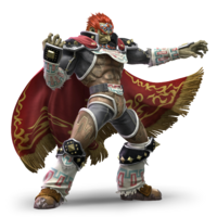 Super Smash Bros. Ultimate - Character Art - Ganondorf
