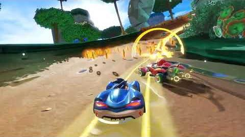 Team Sonic Racing - Gameplay