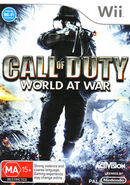 Call of Duty World at War (Wii) (AU)