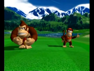 Mario Golf Toadstool Tour - Doubles Match Play (Cheep Cheep Falls)-screenshot