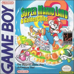 Super Mario Land 2 Portada