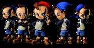 The Legend of Zelda Majora's Mask 3D - Character artwork 22