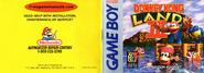 Donkey Kong Land III Manual (Front and Back)