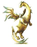 Fae Divine Dragon Illustration