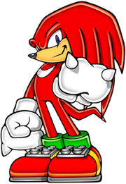 Knuckles - Sonic Advance