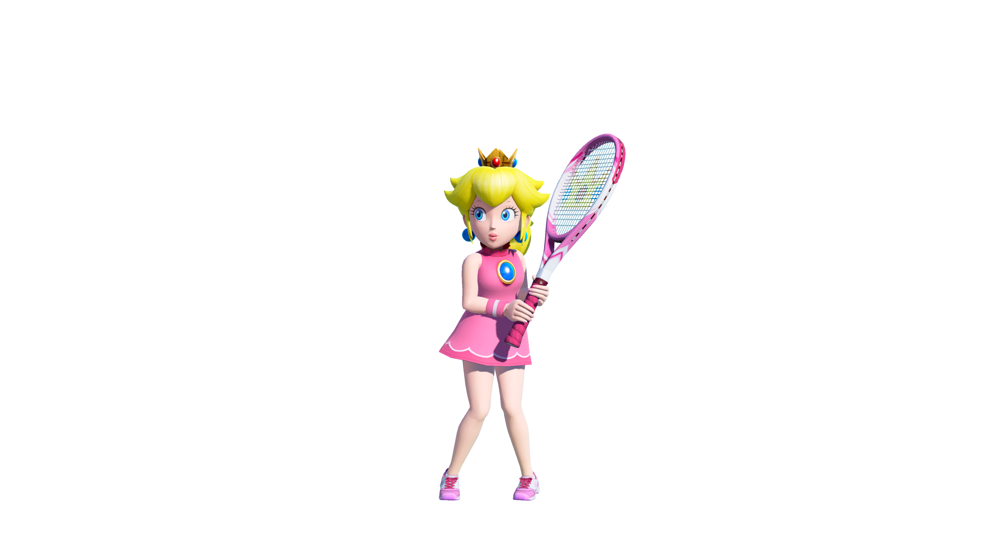 Image Mario Tennis Aces Character Artwork Peach 02 Switch English Us Games