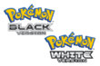 Pokemon Black White logo