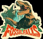 Super Mario Odyssey - Sticker Artwork - Fossil Falls