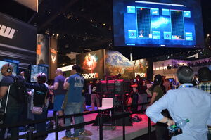 E3 2014 Ubisoft Booth