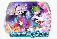 Fire Emblem Heroes - Summoning Banner - Heroes with Hone Atk