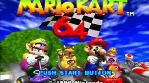 Mario Kart 64 Frappe Snowland