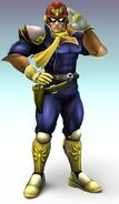 Smash Bros Brawl Captain Falcon