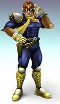 Smash Bros Brawl Captain Falcon