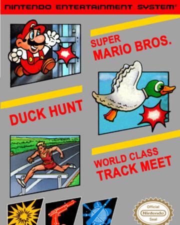 Super Mario Bros Duck Hunt World Class Track Meet Nintendo