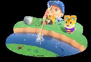 Animal Crossing New Horizons - Scene artwork 03