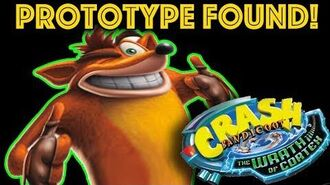 Crash Bandicoot Wrath of Cortex Prototype - Some Very Different Gameplay!