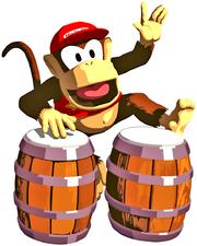 Diddy Kong DKa Artwork