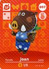 Animal Crossing Amiibo Card 007