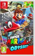 Super Mario Odyssey Box art (EU)