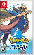 Pokémon Sword US boxart
