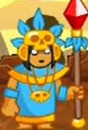 Swords & Soldiers Aztec necromancer
