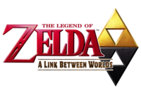 The Legend of Zelda A Link Between Worlds Logo