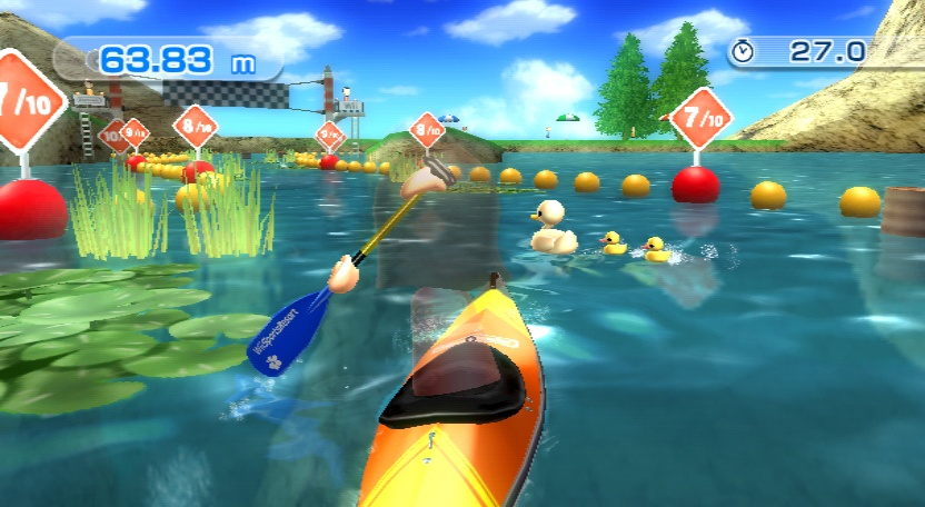 what games are on wii sports resort