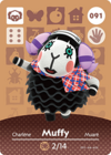 Animal Crossing Amiibo Card 091