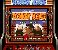 Donkey Kong 94 title