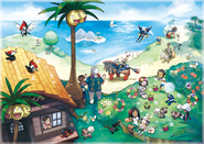 Artwork de Pokémon de Alola