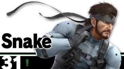 31- Snake – Super Smash Bros. Ultimate