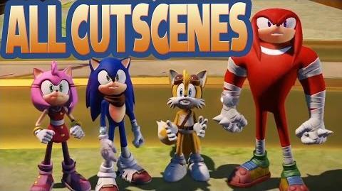 All Cutscenes Sonic Boom Rise of Lyric (Wii U)