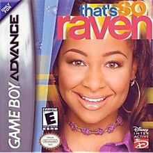 GBA Thats So Raven Box
