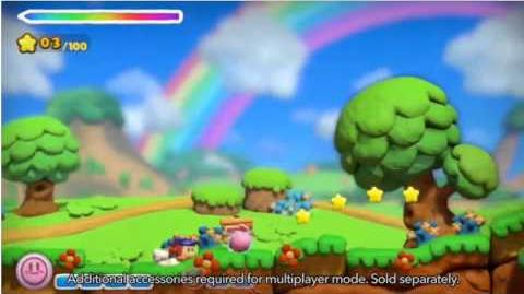 Kirby & The Rainbow Curse Gameplay (Nintendo Direct)