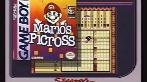 Mario's Picross (Game Boy) - Nintendo Power Previews 10 segment