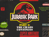 Jurassic Park Part 2: The Chaos Continues (SNES)