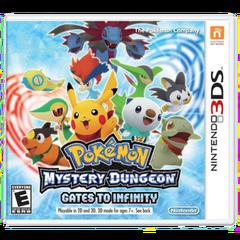 Pokémon Mystery Dungeon Gates to Infinity (NA)