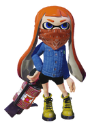 Splatoon - DenimJacket Mask