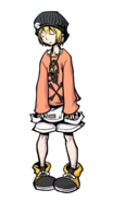 The World Ends with You Final Remix - Character Art - Rhyme 4