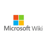 Wordmark for microsoft wiki square