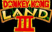 Donkey Kong Land III logo