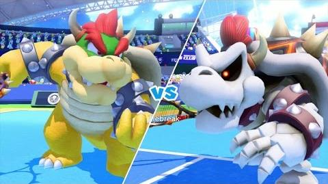 Mario Tennis Ultra Smash Walkthrough Part 6 - Knockout Challenge (Unlocking Star Bowser)