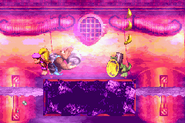 Poisonous Pipeline (DK Coin, Donkey Kong Country 3 GBA)