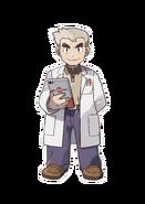 Pokémon Let's Go, Pikachu! and Let's Go, Eevee! - Character Artwork - Professor Oak