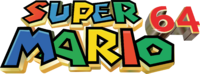 Super Mario 64 logo