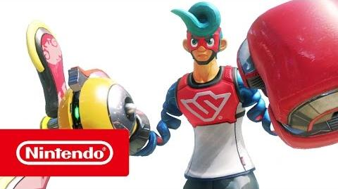 ARMS - Tráiler de armamento (Nintendo Switch)